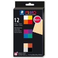 Набор полимерной глины Fimo professional «Базовые цвета» 8043 С12-1 12*25гр