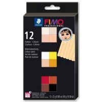 Набор полимерной глины Fimo professional doll art 12*25гр 8073 С12-1