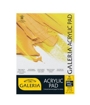 Альбом для акрила Galeria, 300 гр/м2, А4, 15 листов
