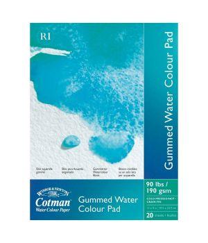 Альбом для акварели «Cotman» 190-425 гр/м2, 203х127 мм