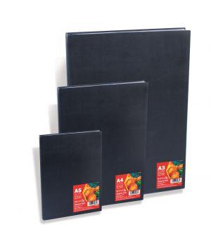 Альбом для эскизов в твердом переплете REEVES, 96 гр/м2, 80 листов, А5, А4, А3, слегка шероховатая бумага
