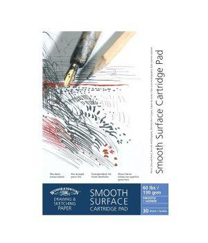 "Альбом с гладкой поверхностью ""Smooth surface"", А2, А3, А4, А5, 130 гр/м2, 30 листов"