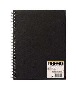 Блокнот (Скетчбук) REEVES на спирали А4, А5, 80 листов, 96 гр/м2