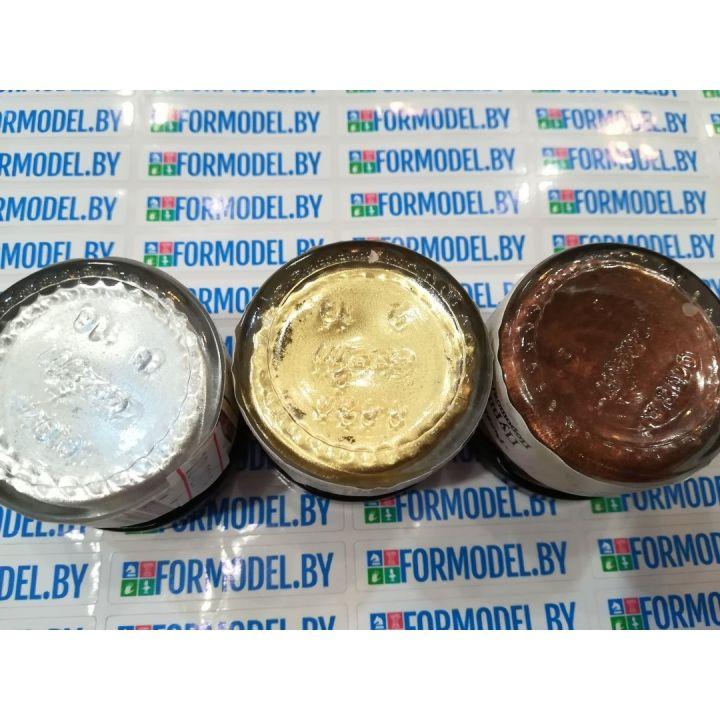 """Пурпурин. Порошок для затирки. """"Pragma Gold"""", серебро, 20 мл 05269"""