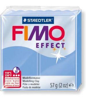 Пластика - полимерная глина FIMO Effect  57г голубой агат (8020-386)
