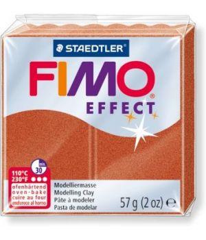 Пластика - полимерная глина FIMO Effect  57г медный (8020-27)