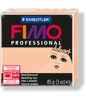 Пластика - полимерная глина FIMO Professional Doll art  85г непрозрачная камея (8027-435)
