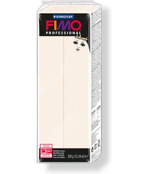 Пластика - полимерная глина FIMO Professional Doll art  454г полупрозрачный фарфор (8071-03)