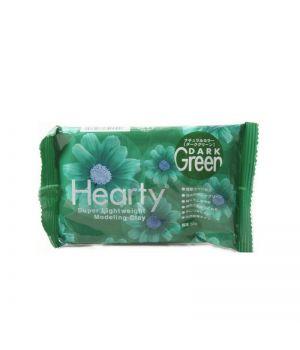 Зефирная глина Hearty темно-зеленая  50 гр.