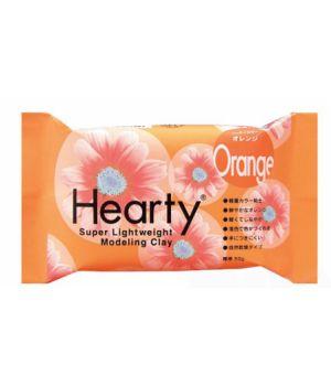Зефирная глина Hearty оранжевая  50 гр.