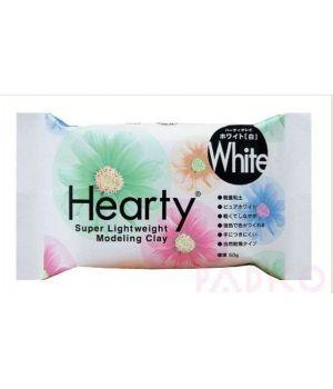 Зефирная глина Hearty белая  50 гр.