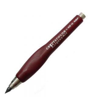 """Держатель для стержня 5-6 мм """"ERGONOMIC"""", красный пластмасовый корпус эргономичной формы"""