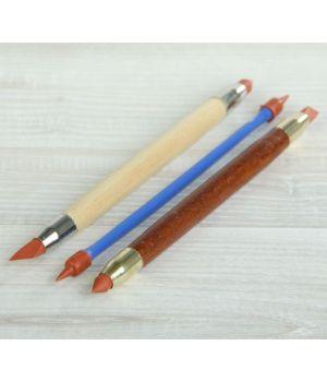 Инструменты для моделирования и придания формы набор 3 шт с резиновыми наконечниками 16 см (2291556)
