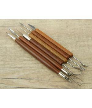 Инструменты для творчества набор 6 шт дерево, металл 17 см (2291559)