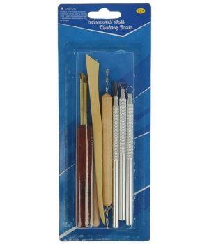 Инструменты для творчества набор 7 шт дерево, металл 14 см 20,8х8 см (2291527)