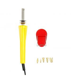 Инструмент для нанесения рисунка по дереву (обжиг) 6 насадок плюс подставка 23х3см (1295247)