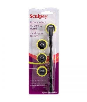 Набор инструментов SculpeyTexture Wheel для пластики