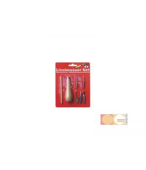 Набор для макетирования 1 нож, 2 металл держателя, 5 сменных лезвий DK11523