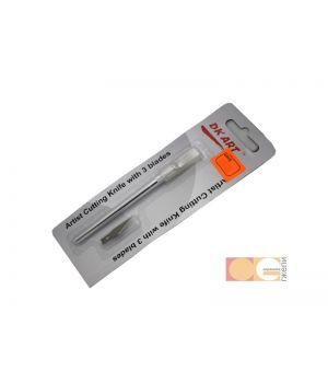 Набор для макетирования 1 нож, 3 сменных лезвия DK35001