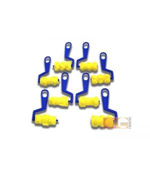 Набор валиков (фигурные 4 вида, 70 мм) DK12524