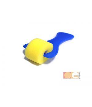 Валик поролон ровный, 25 мм, ручка пластмасс DK12505-25