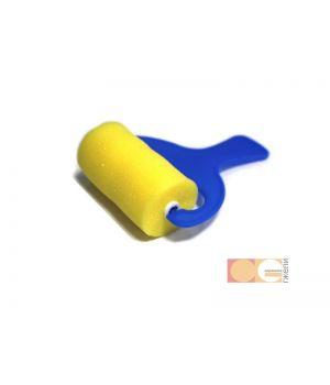 Валик поролон ровный, 75 мм, ручка пластмасс DK12505-75