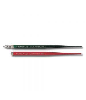 Держатель CretaColor для пера каллиграфии, цвета корпуса красный и зеленый в ассортименте, 5 шт./упак.