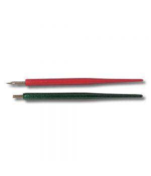 Держатель + перо для каллиграфии CretaColor, ПОШТУЧНО, цвета корпуса красный или зеленый в ассортименте, 10 шт./упак.