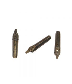 Каллиграфическое перо CretaColor для орнамента с плоским наклонным окончанием и накопителем для туши 2 мм, 1шт