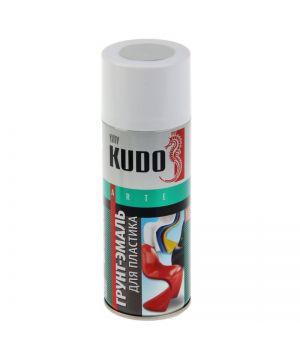 Грунт-эмаль для пластика Kudo серая, 0,52л