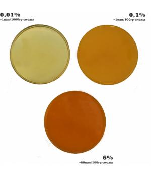 Краситель, паста для эпоксидной смолы KolerPark 20мл желтая