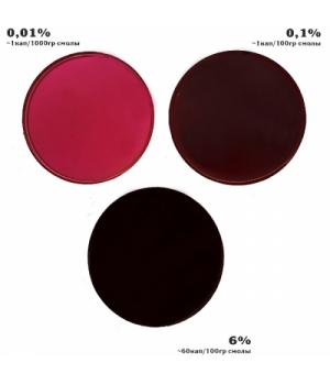 Краситель, паста для эпоксидной смолы KolerPark 20мл ягодная
