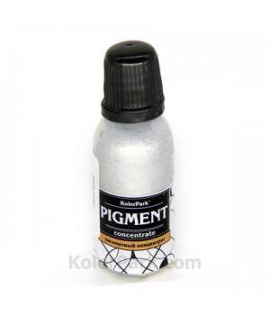 Краситель, паста для эпоксидной смолы KolerPark 20мл серебро