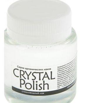 Лак стекловидный глянцевый 80 мл ЛК CrystalPolish (2337995)