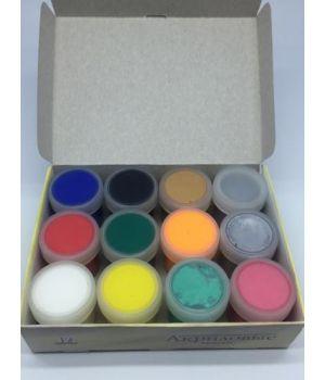 """Краски акриловые """"Фентези"""" набор 12 цветов х 20мл DecArt"""