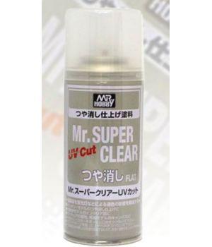 Лак Mr. Super Clear UV Cut Flat матовый с UV-фильтром