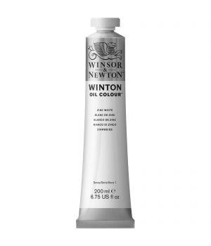 "Масляная краска Winton цвета ""Белый титан"" в тюбике, 200 мл"