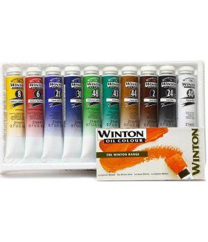 Масляные краски Winton в наборе 10х21 мл