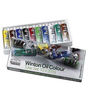 Масляные краски Winton в наборе 10х37мл