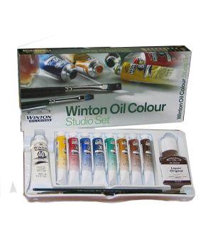 Масляные краски Winton в студийном наборе 8х21 мл