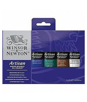 """Масляные водорастворимые краски """"Artisan"""", набор для начинающих 6 х 37 мл"""
