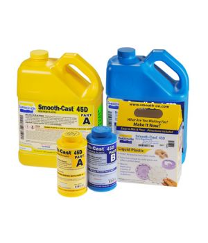 Жидкий полиуретановый пластик Smooth-Cast 45D (7,53 кг)
