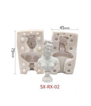 """Молд силиконовый 3D """"Артемида"""" 7,9*4,5см S3-2"""