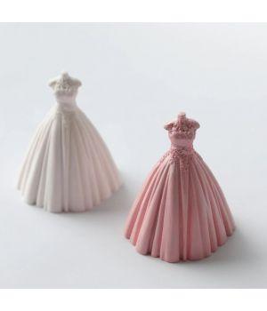 """Молд силиконовый """"Свадебное платье"""" 8,5*8см S43"""