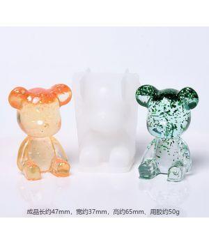 """Молд силиконовый 3D """"Медвежонок"""" D187-1"""