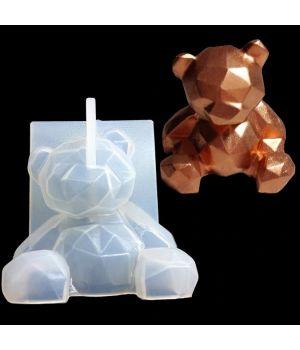 """Молд силиконовый """"Медведь"""" 6,8*6,8см D125"""