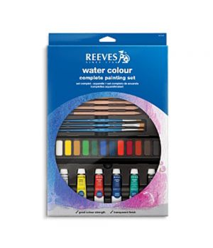 Полный набор акварельных красок REEVES, 32 предмета