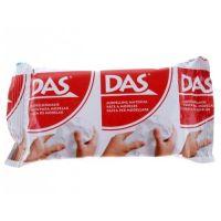 Глина для лепки самоотвердевающая DAS 387000, 150 г, белая (505631)