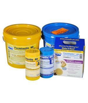 Полиуретан жидкий двухкомпонентный Smooth-On Formlastic 60 (компл.0,99 кг)