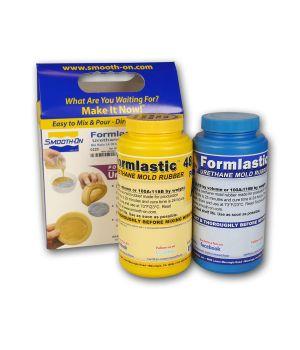 Полиуретан жидкий двухкомпонентный Smooth-On Formlastic 48 (0,99 кг)